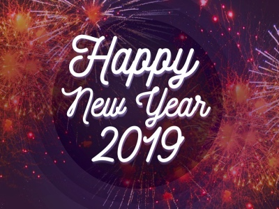 Happy New Year 2019 featured