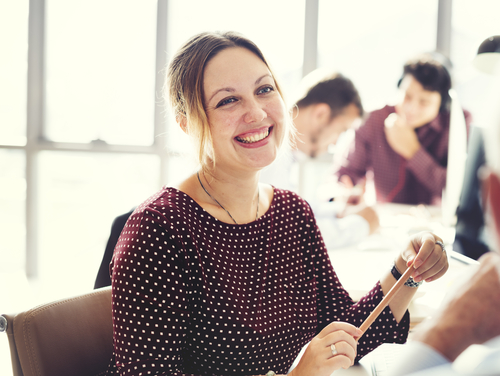 happy-woman-at-work-mental-health
